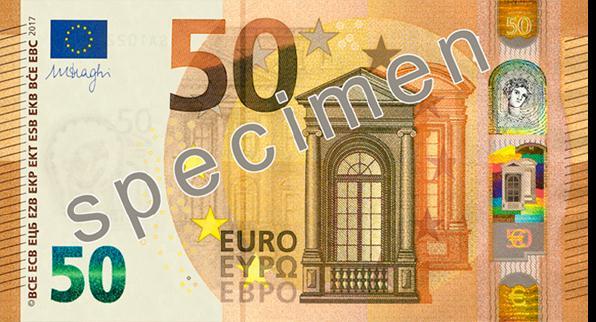 nouveau billet de 50 euros 2017