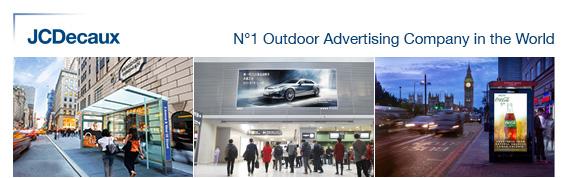 JCDecaux N°1 mondial de la publicité outdoor
