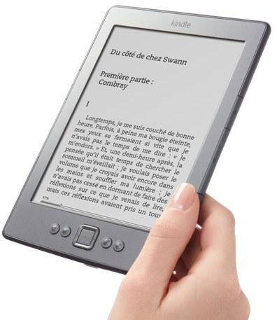 e-Ink Kindle Amazon France 2011