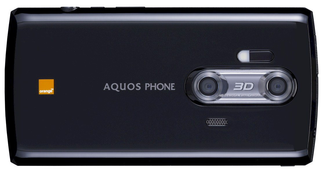 Aquos phone 3D Sharp offre Orange en France
