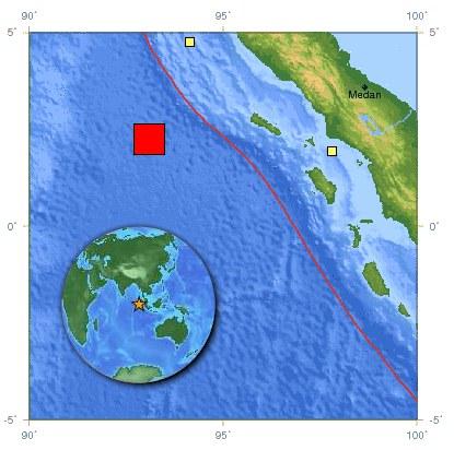 Sumatra séisme 12-04-2012