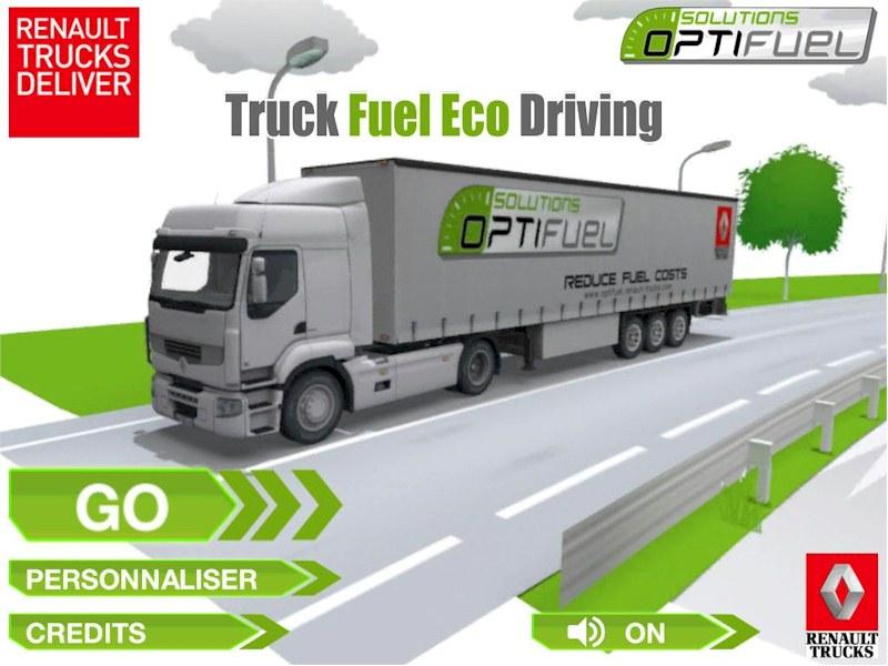 Truck Fuel Eco Driver : jeu gratuit sous iPhone et Android
