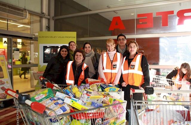 collecte Banques Alimentaires 2013 Auchan Vélizy