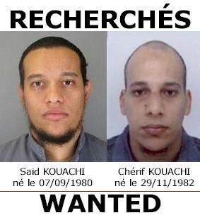 avis de rechercheSaid Kouachi et Cherif Kouachi