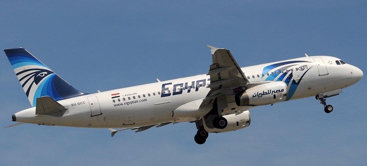 AIRBUS-A320-200 immatriculé SU-GCC Compagnie aérienne Egyptair