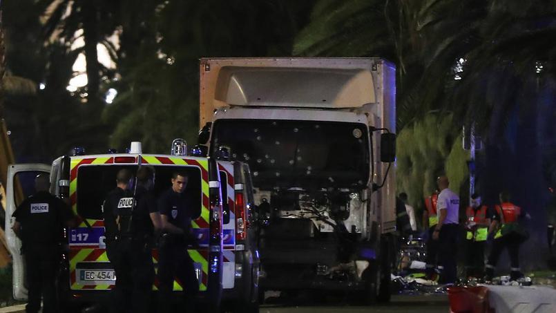 camion blanc attentat de Nice 14 juillet 2016